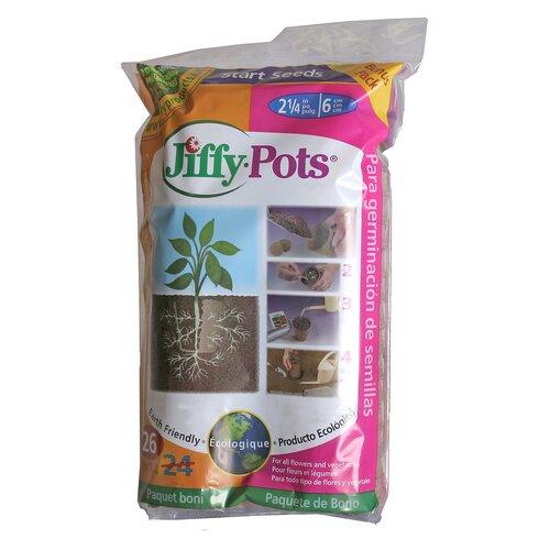 """Ferry Morse/Jiffy 2.25"""" Pots (Set of 26)"""