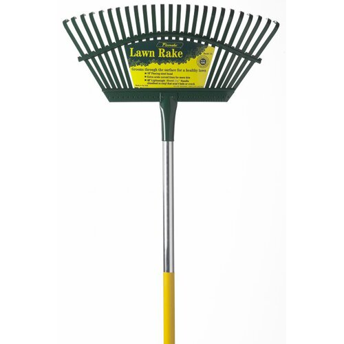 Flexrake Flex Steel Head 4' Handle Leaf Rake