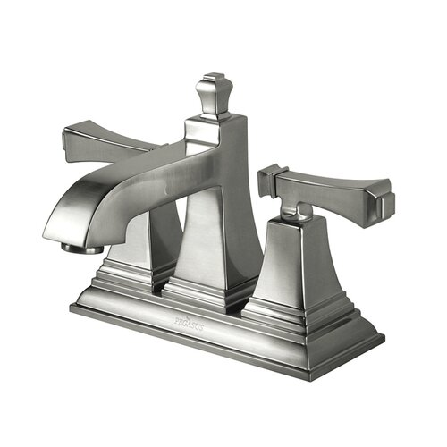 Estates 4-Inch Faucet in Brushed Nickel