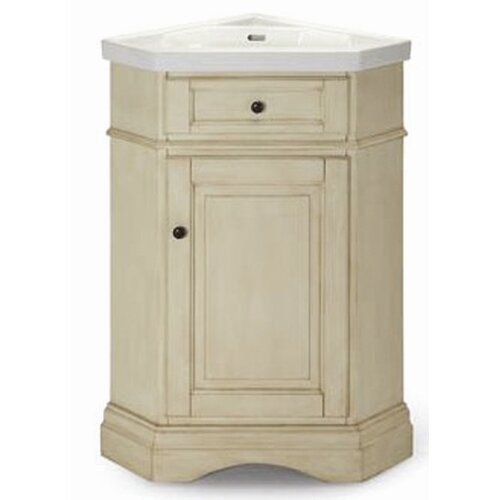 26quot; Single Corner Bathroom Vanity Set amp; Reviews  Wayfair Supply
