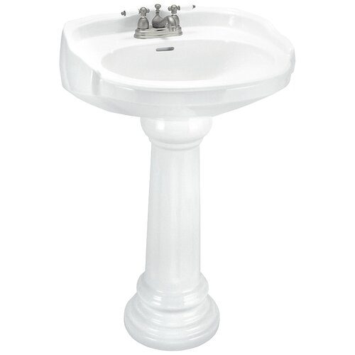 Elizabethan Classics Aberdeen Pedestal Sink Set