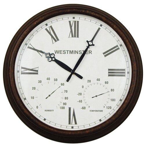 """Lusterleaf 16.34"""" Stratford Wall Clock"""