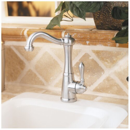 Pfister Marielle 1-Handle 3-Hole High-Arc Bar Prep Kitchen Faucet