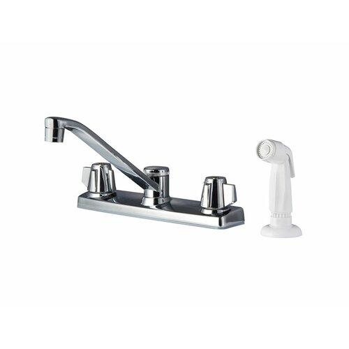 Pfirst Series Two Handle Centerset Kitchen Faucet