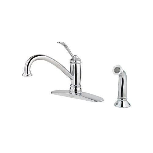 Price Pfister Brookwood One Handle Centerset Kitchen Faucet