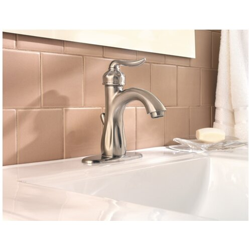 Price Pfister Sedona Single Hole Faucet with Single Scroll Handle