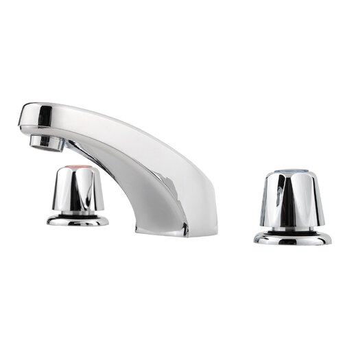 Pfirst Series Two Handle Widespread Bathroom Faucet