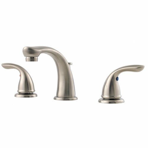 Price Pfister Pfirst Series Two Handle Widespread Bathroom Faucet