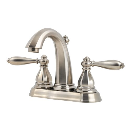 Price Pfister Portola Double Handle Centerset Bathroom Faucet