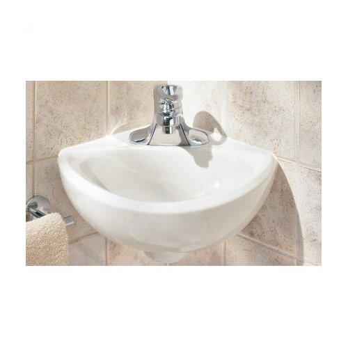 Corner Minette Wall Mount Bathroom Sink