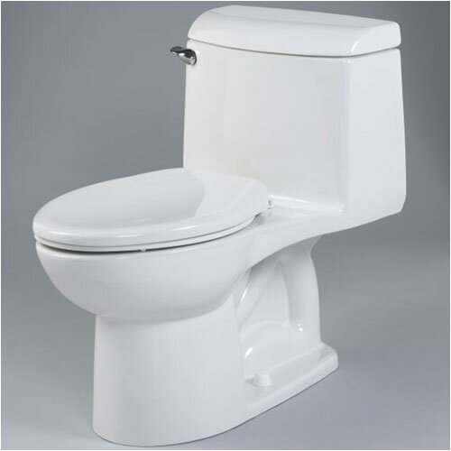 American Standard Champion Right Height 1.6 GPF Elongated 1 Piece Toilet