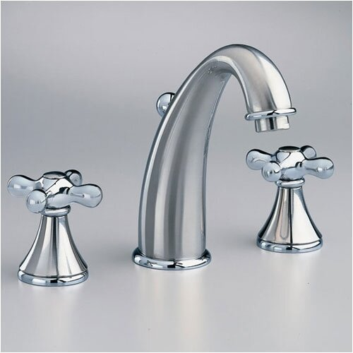 American Standard Amarilis Widespread Bathroom Faucet with Double Cross Handles