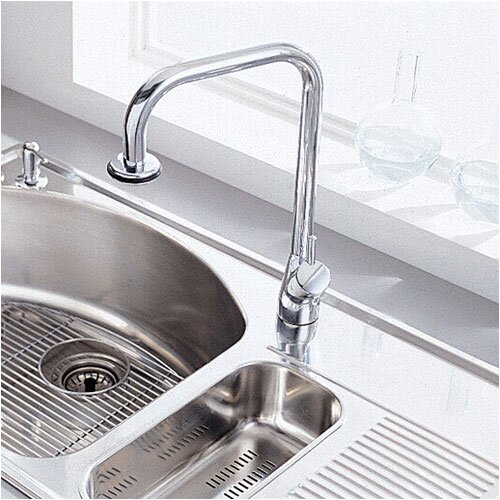 American Standard Culinaire Single Handle Single Hole kitchenFaucet with Pull Out Spout End
