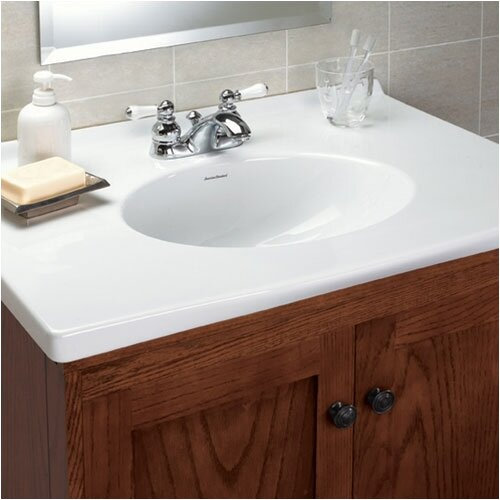 "American Standard Newbern 31"" Vanity Top with Oval Sink"