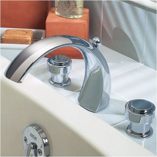 American Standard Lexington Deck Mount Bath Tub Faucet with Hand Shower