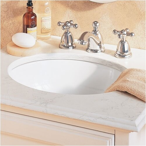 Ovalyn Universal Access Undermount Bathroom Sink