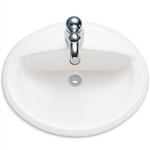 American Standard Aqualyn Self Rimming Bathroom Sink with Extra Hole