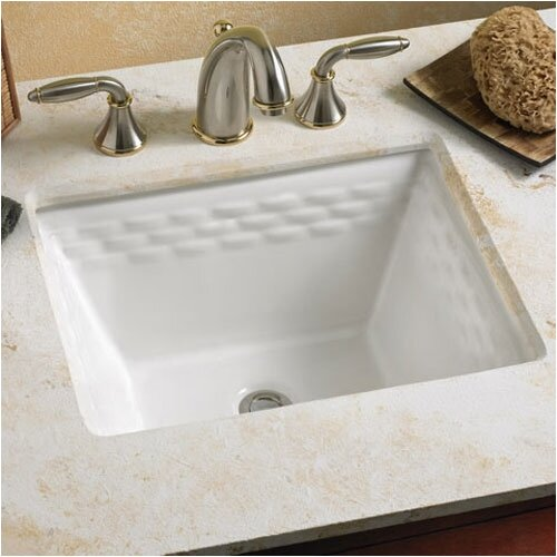 Rattan Undercounter Bathroom Sink