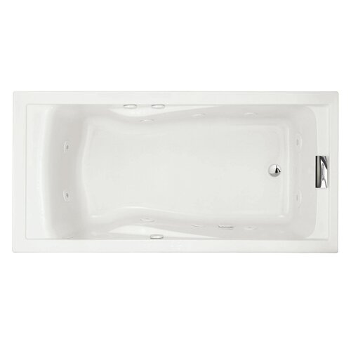 "American Standard Evolution 72"" x 36"" EverClean Hydro Massage Whirlpool Tub"
