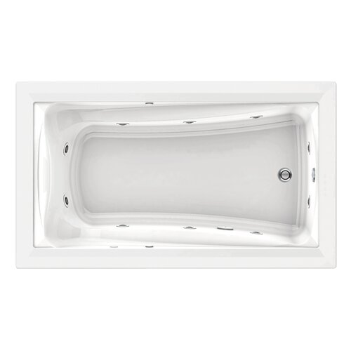 "American Standard Green Tea 72"" x 42"" Large Whirlpool Tub"
