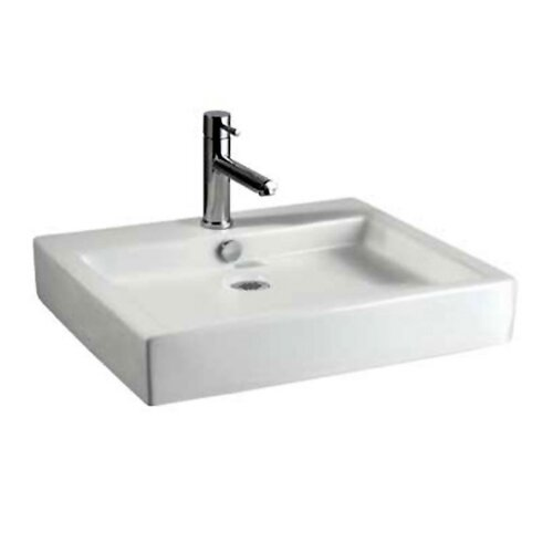 Studio Above Counter Rectangular Bathroom Sink