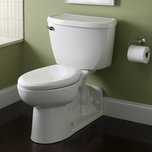 American Standard Yorkville Pressure Assisted 1.6 GPF Elongated 2 Piece Toilet