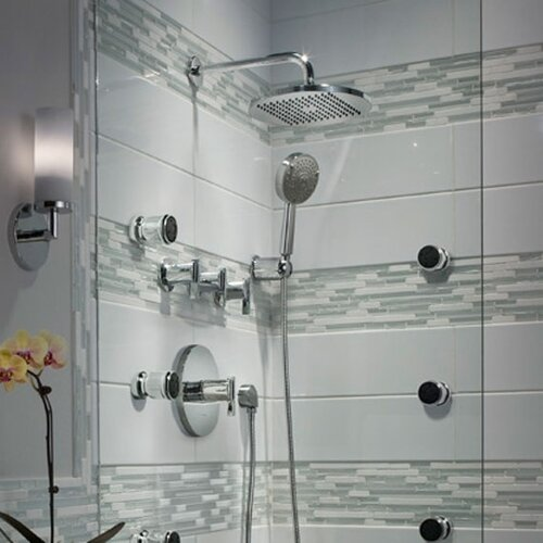 American Standard Berwick Diverter Shower Faucet Trim Kit with Lever Handle