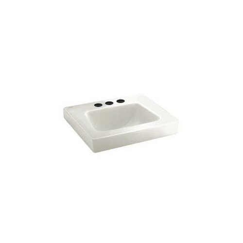 American Standard Roxalyn Wall Mount Sink with Exposed Bracket Installation