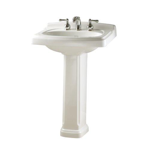 American Standard Townsend Pedestal Bathroom Sink Set