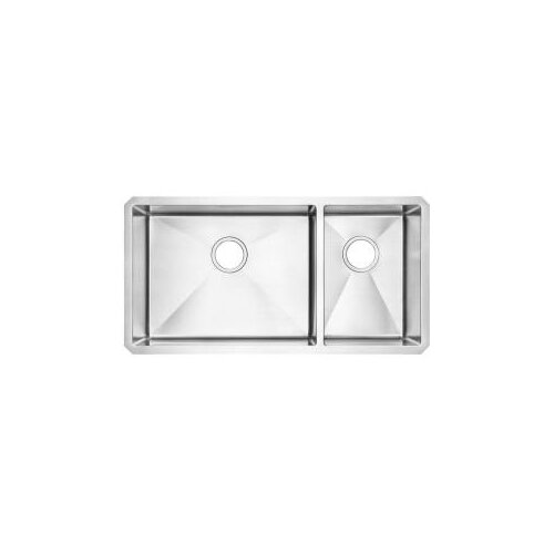 "American Standard 35"" x 21.75"" Undermount Double Combination Bowl Kitchen Sink"