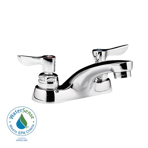 American Standard Monterrey Centerset Bathroom Faucet with Double Lever Handles