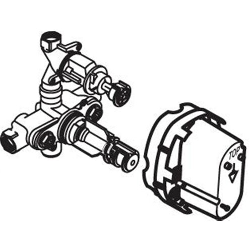 American Standard Rough Thermostatic Valve Body (A4224NU)