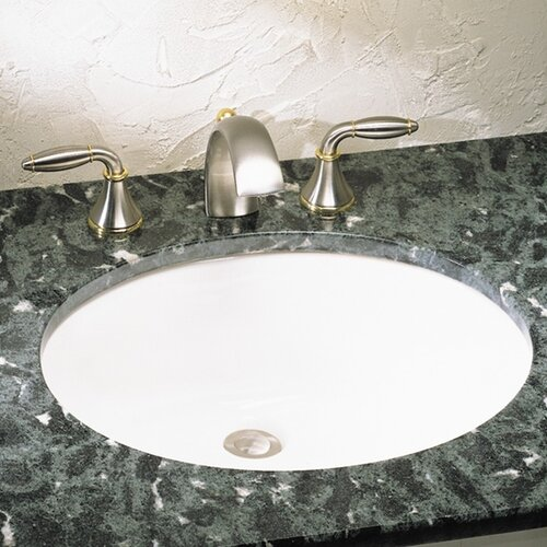 Ovalyn Undercounter Bathroom Sink