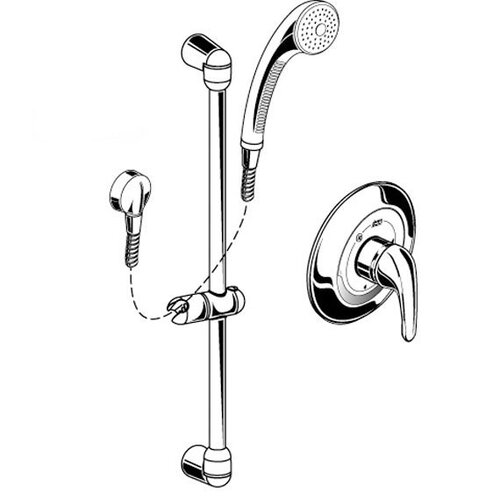 American Standard FloWise Commercial Shower System Kit