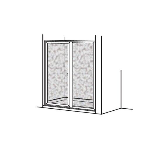 American Standard Prestige Framed Hinged Shower Door and Panel
