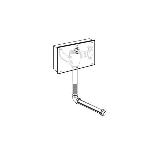 American Standard Concealed 1.6 GPF AC Wrist Blade Flush Valve with Back Spud