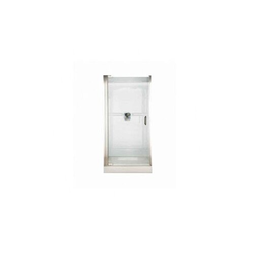 American Standard Euro Frameless Hinge Shower Door