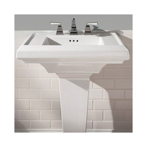 "American Standard Town Square 27"" Pedestal Bathroom Sink Top"