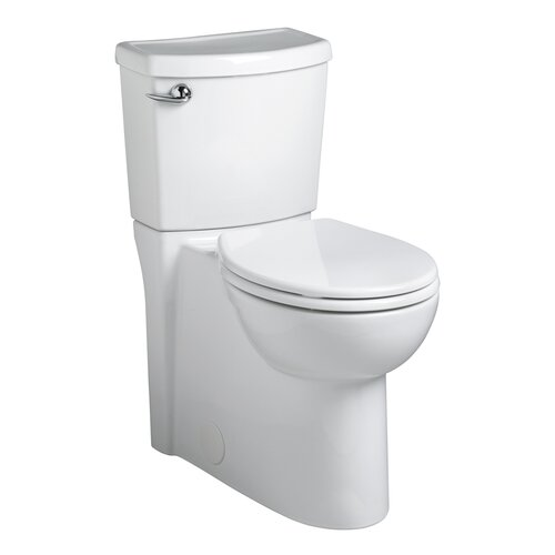 American Standard Cadet 3 Right Height 1.28 GPF Round Front 2 Piece Toilet