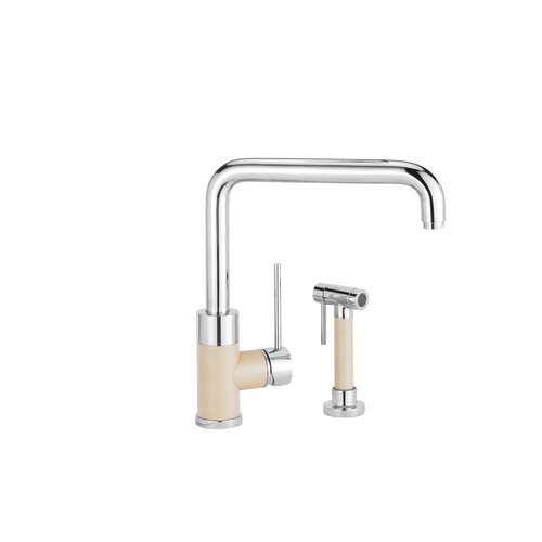 Purus I Single Handle Single Hole Kitchen Faucet with Side Spray