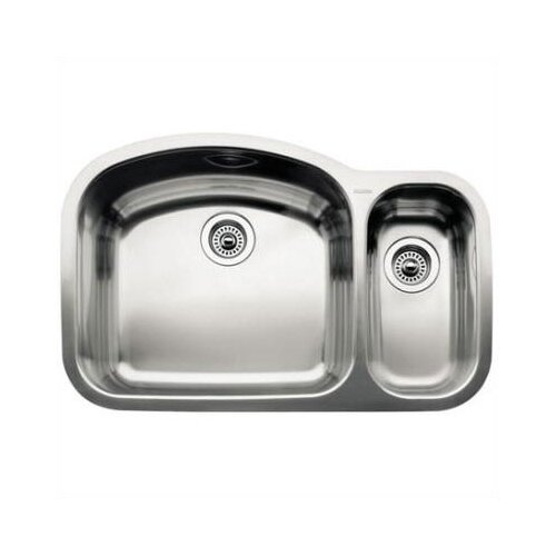 "Blanco Wave 32.09""  x 20.88"" Bowl Undermount Kitchen Sink"