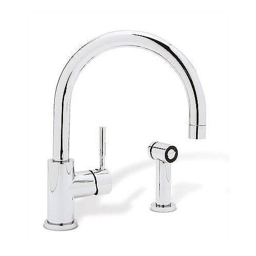Blanco Meridian Single Hole Single Handle Kitchen Faucet With Side Spray Reviews Wayfair