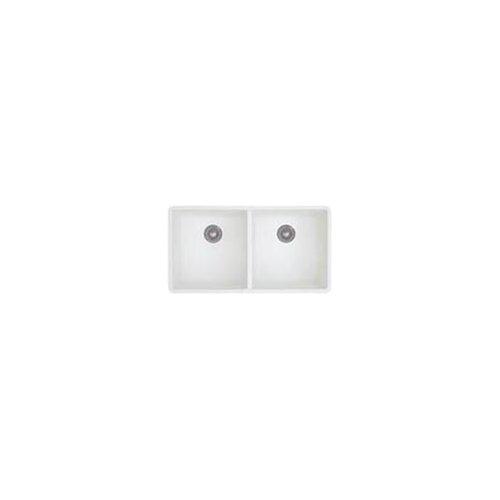 "Blanco Precis 29.75"" x 18.13"" x 7.75"" Double Bowl Undermount Kitchen Sink"