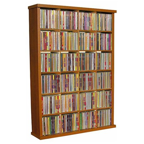 VHZ Entertainment 24 Slot Storage Rack