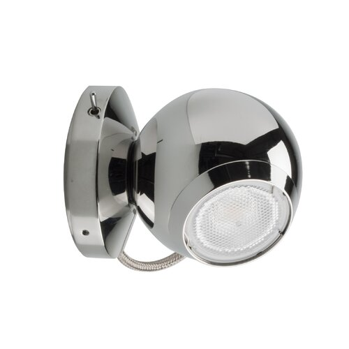 Studio Italia Design Eye Adjustable LED Sconce with On-Off Switch