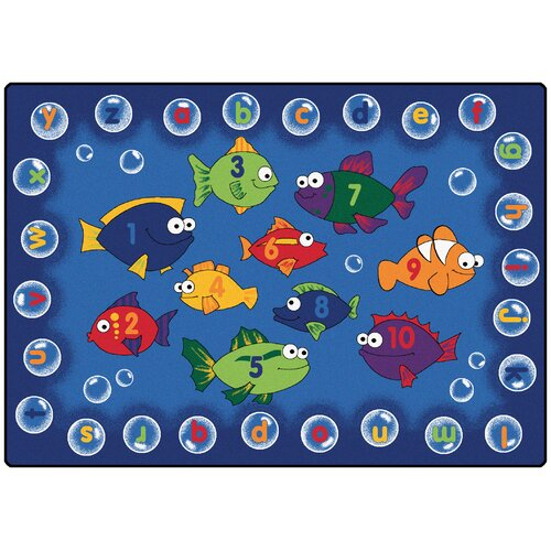 Carpets For Kids Literacy Fishing Kids Rug & Reviews