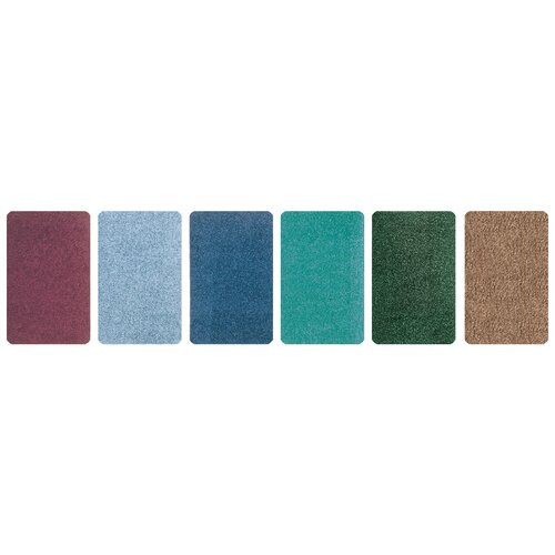 Carpets for Kids Solid Mt. St. Helens Emerald Green Area Rug