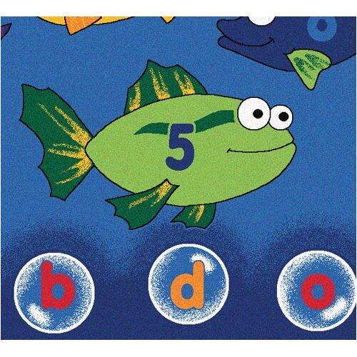 Carpets For Kids Literacy Fishing Kids Rug & Reviews