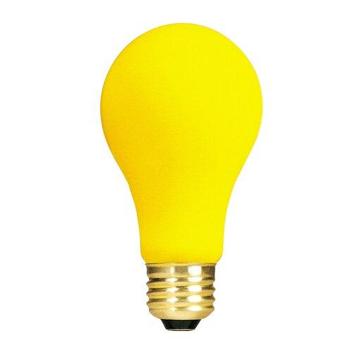 Bulbrite Industries Yellow 130-Volt (2700K) Incandescent Light Bulb