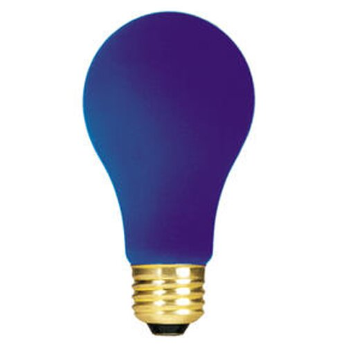 Bulbrite Industries 60W Blue 120-Volt (2700K) Incandescent Light Bulb